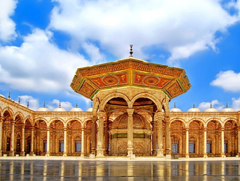 amzing square mohammad Ali mosque Al Abageyah  Egypt