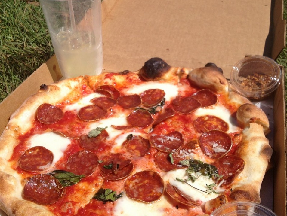 Pizzeria Delfina in the Mission  San Francisco California United States