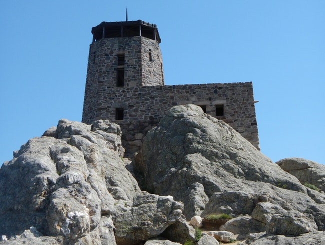 Harney Peak Fire Lookout