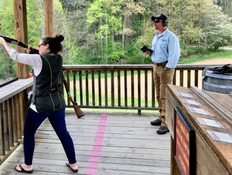 sporting clay lessons Asheville North Carolina United States