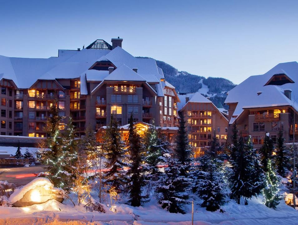 A Warm Welcome to Four Seasons Resort and Residences Whistler Whistler  Canada