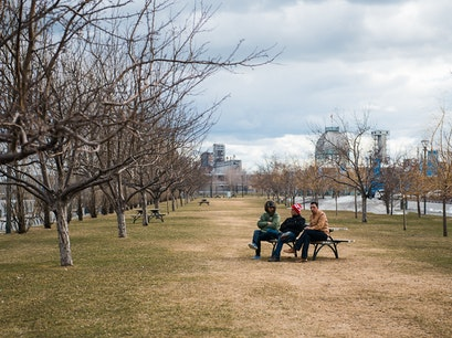 Bonsecours Basin Park Montreal  Canada