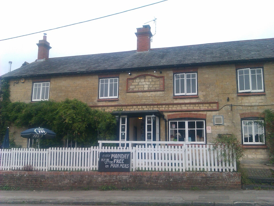 A Country Pub Associated with Thomas Hardy Marnhull  United Kingdom