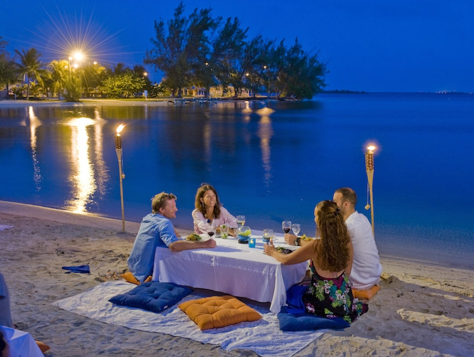 Have a Picnic on Owen Island Blossom Village  Cayman Islands