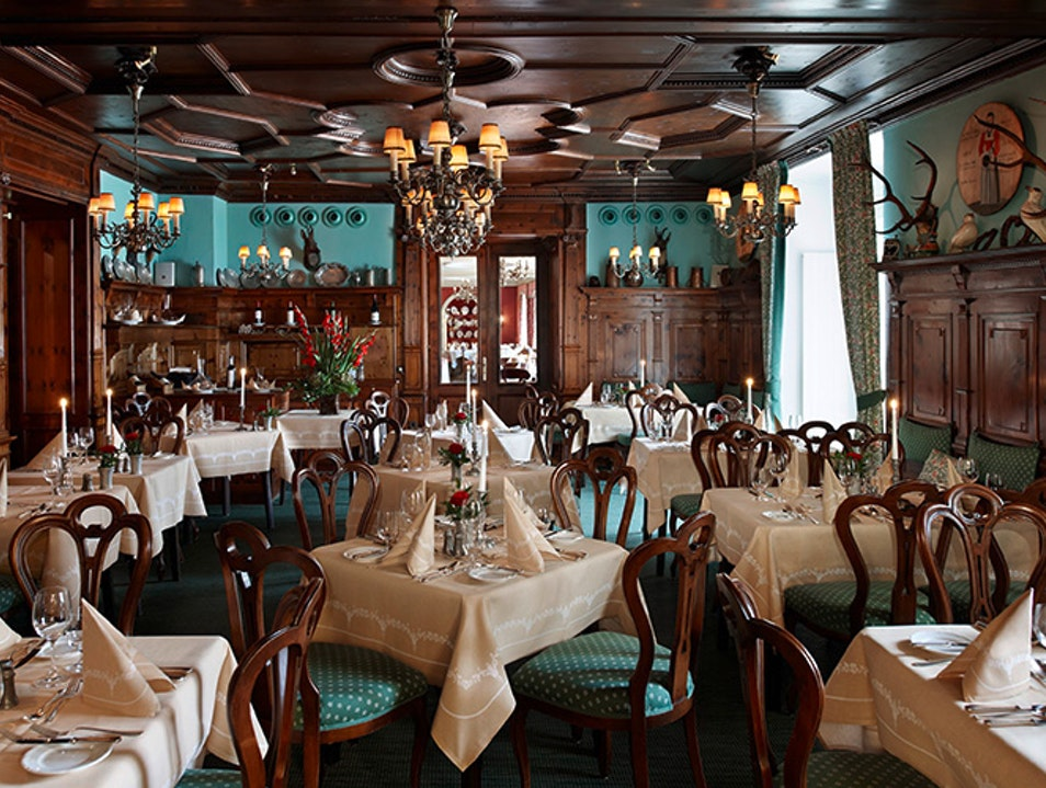 Old World Dining Elegance at the Zirbelzimmer Salzburg  Austria