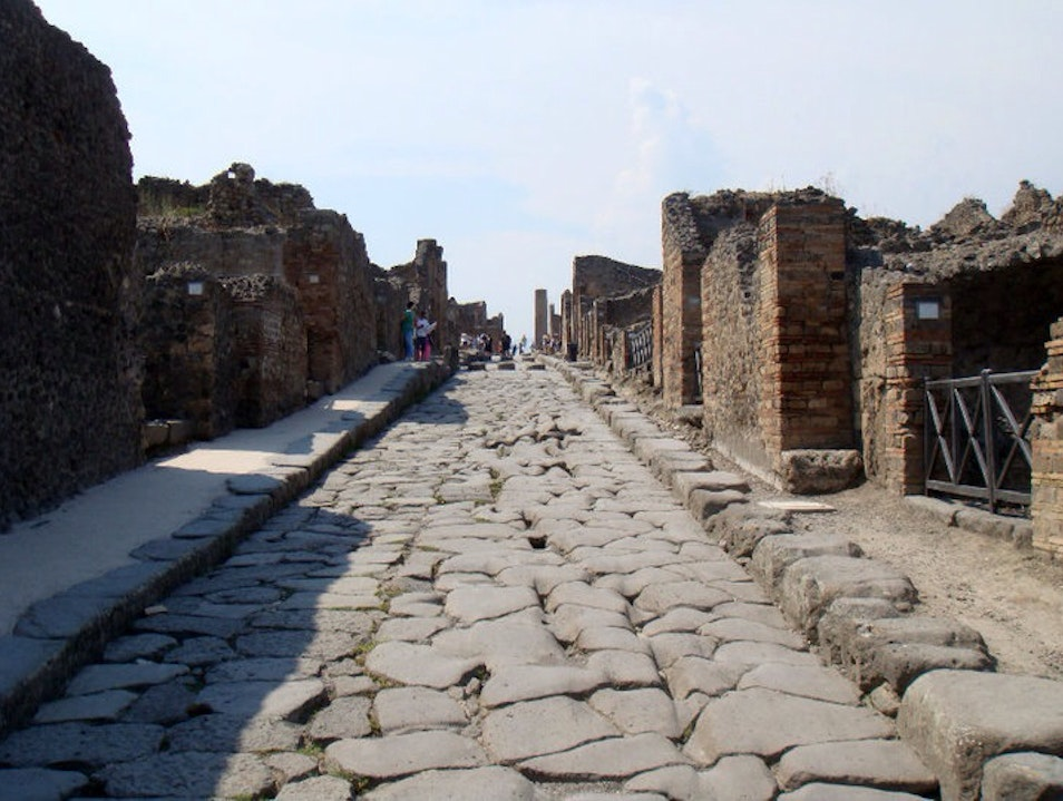 The Lost Streets of Pompeii Pompei  Italy