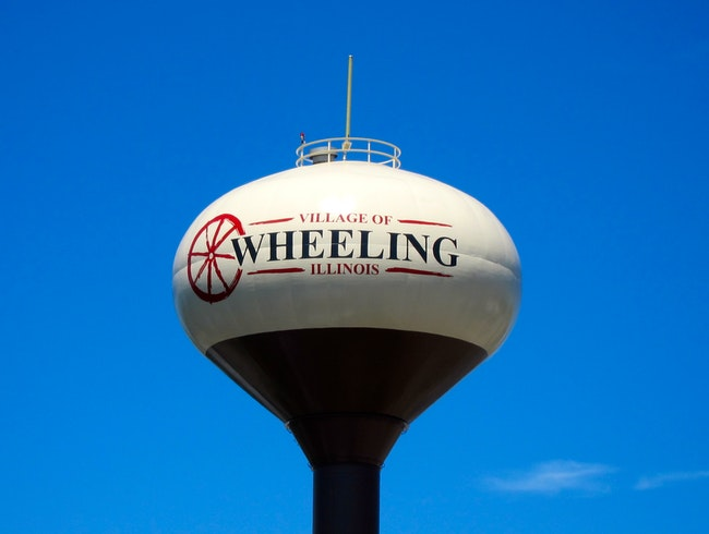 Wheeling Water Tower