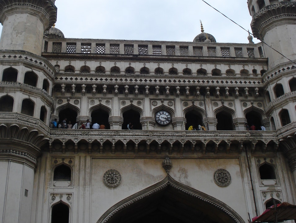 Strolling around the Charminar Hyderabad  India