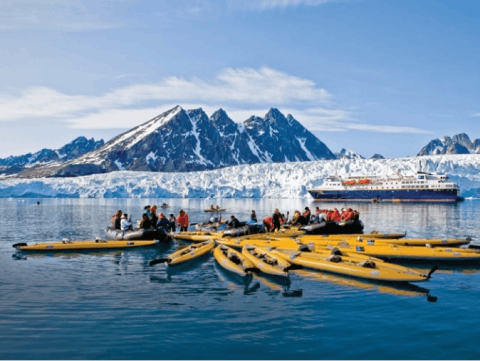Kayaking the Arctic Svalbard  Svalbard and Jan Mayen