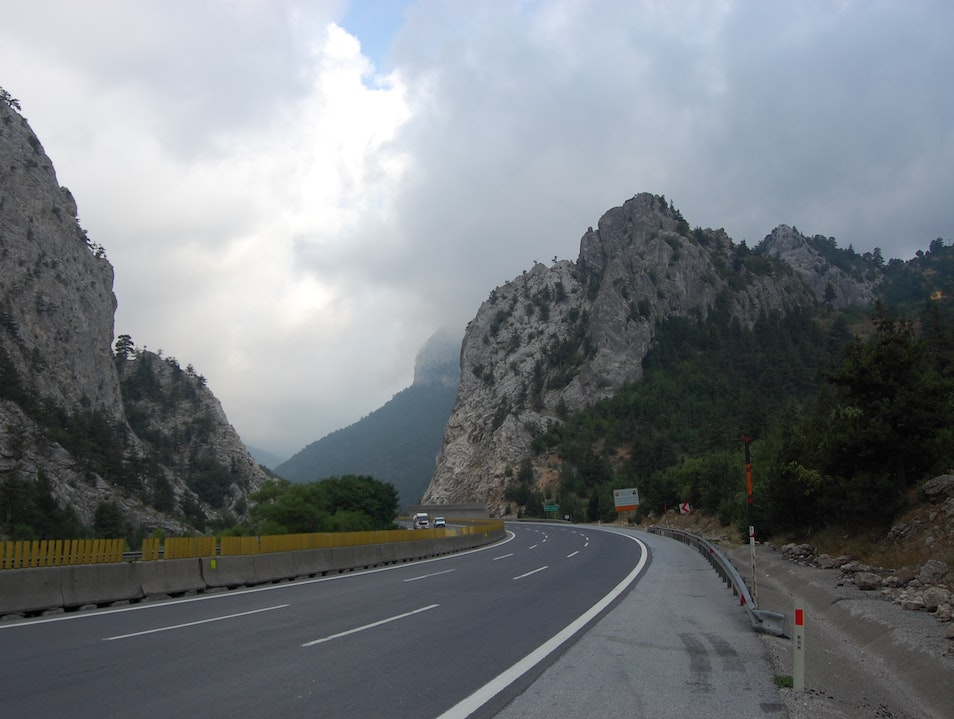 Driving through one of the most strategic mountain passes in history Tarsus  Turkey
