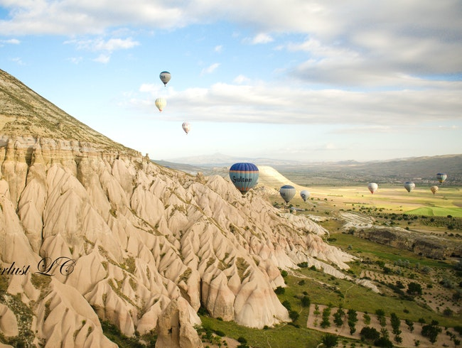 Ballon Flight over Cappadocia