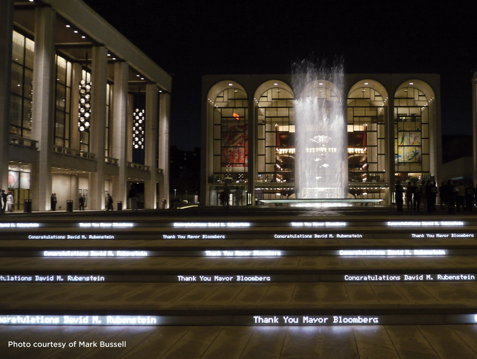 Lincoln Center New York New York United States