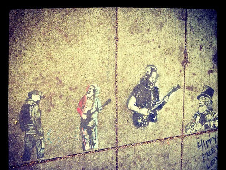 The Grateful Dead Through the Eyes of Banksy