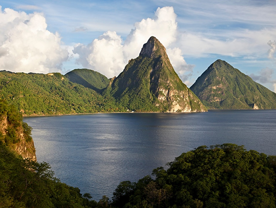 Experiencing the Majestic Pitons Soufriere  Saint Lucia