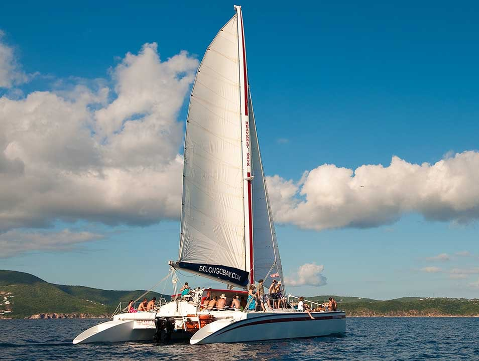 Enjoy Heavenly Days Sailing the Pillsbury Sound Southside  United States Virgin Islands