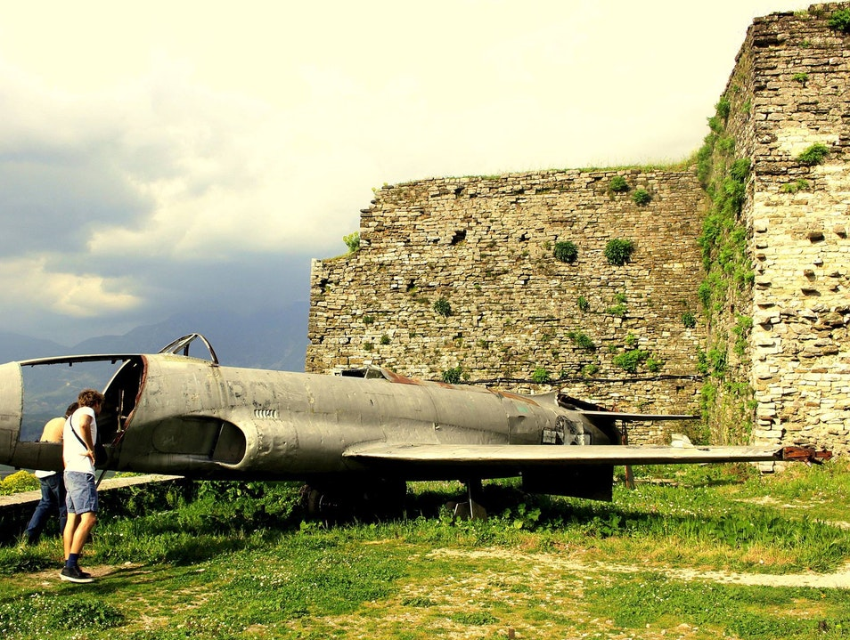 Gjirokastra Castle: The Plane Truth Gjirokaster  Albania