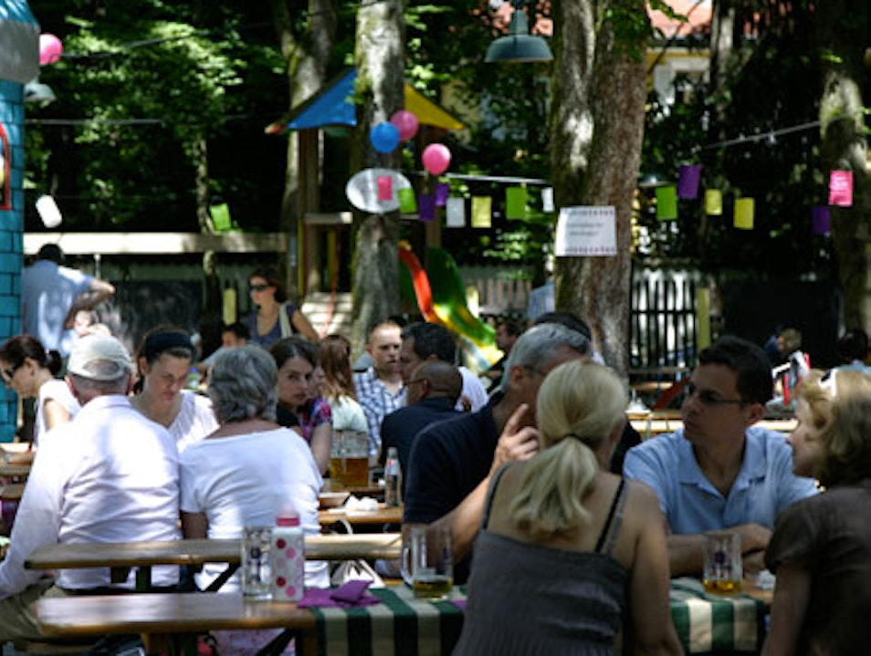 One of Munich's Most Beautiful Beer Gardens Munich  Germany