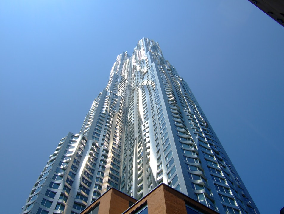 The Gehry Building New York New York United States