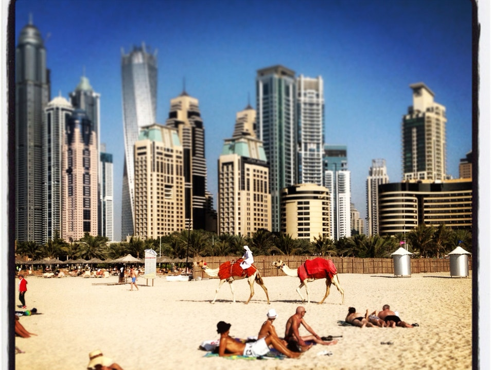 JBR  Dubai  United Arab Emirates