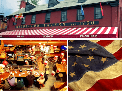 Middleton Tavern Annapolis Maryland United States