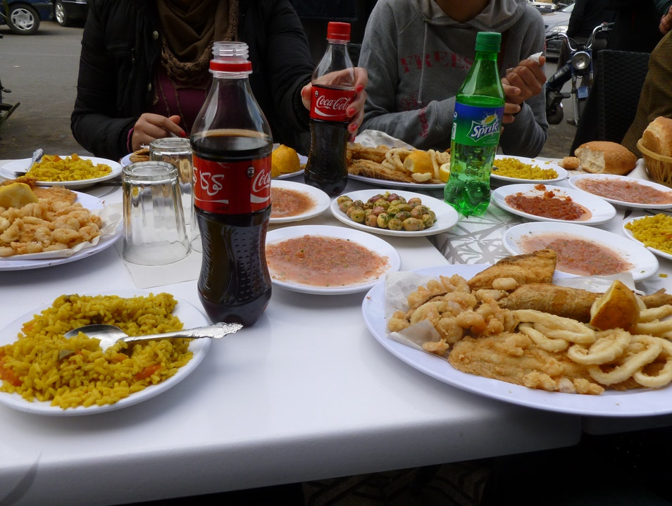 Fresh Fish in the Moroccan Desert? Yes!
