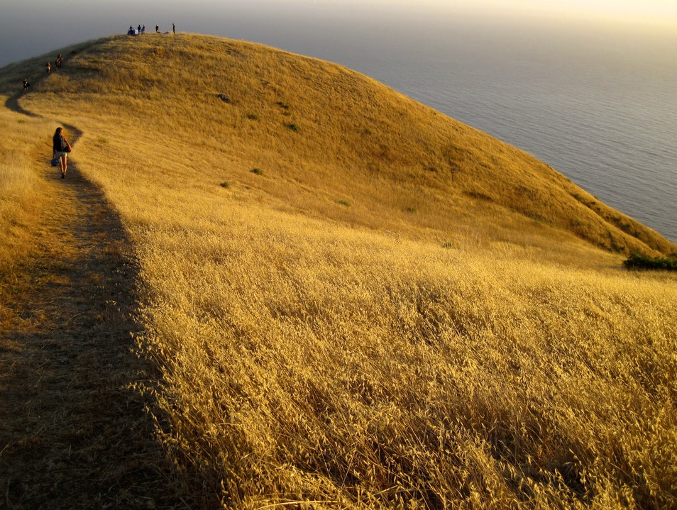 Long hike and sleeping under the Big Sur stars Greenfield California United States