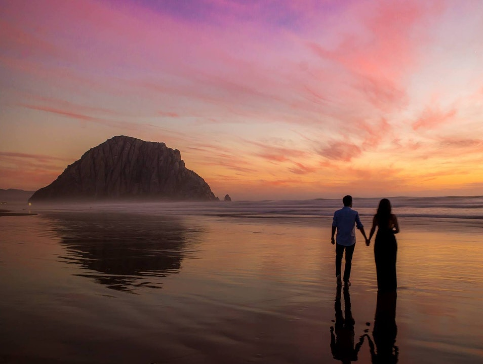 An idyllic seaside getaway in California Morro Bay California United States