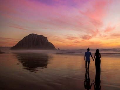 Morro Rock Morro Bay California United States