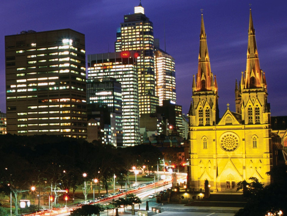 St. Mary's Cathedral Sydney  Australia