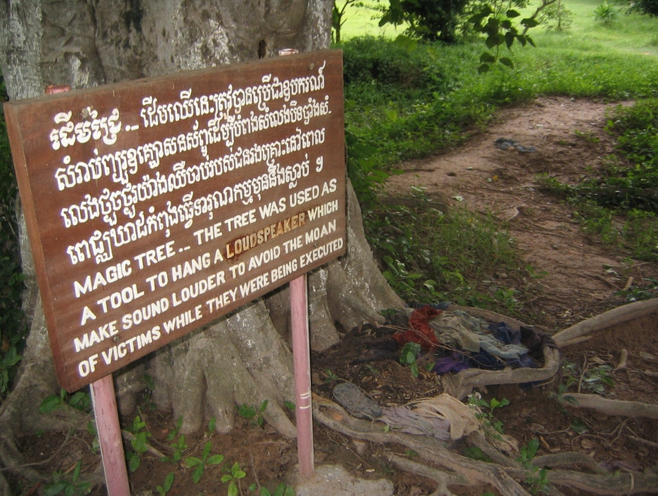 Remember the Victims of the Cambodian Genocide Phnom Penh  Cambodia