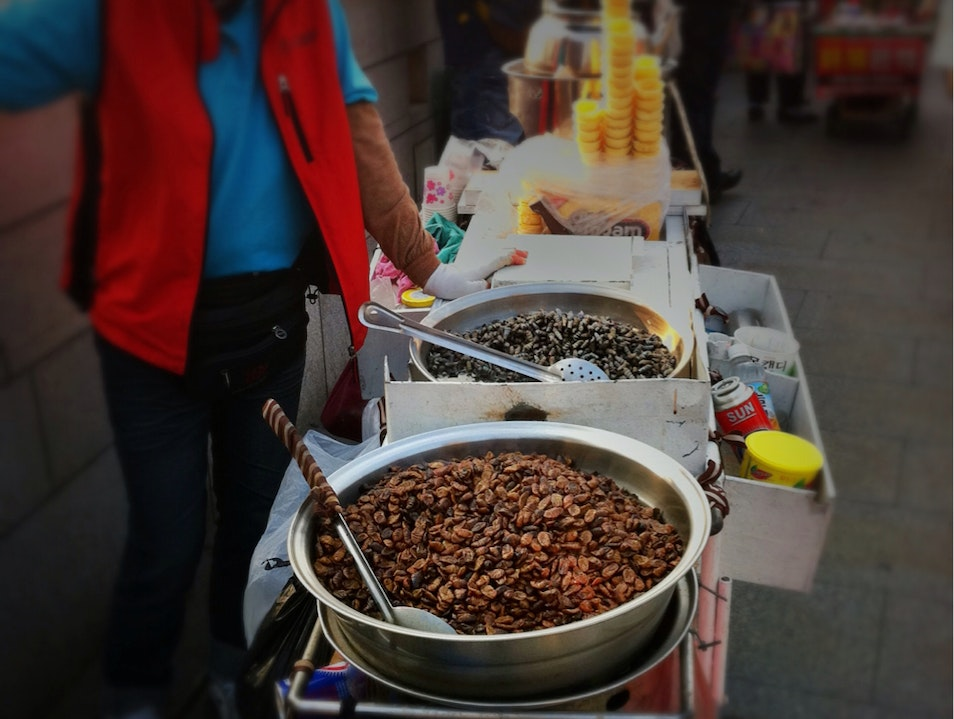 Silkworms, Anyone? Seoul  South Korea