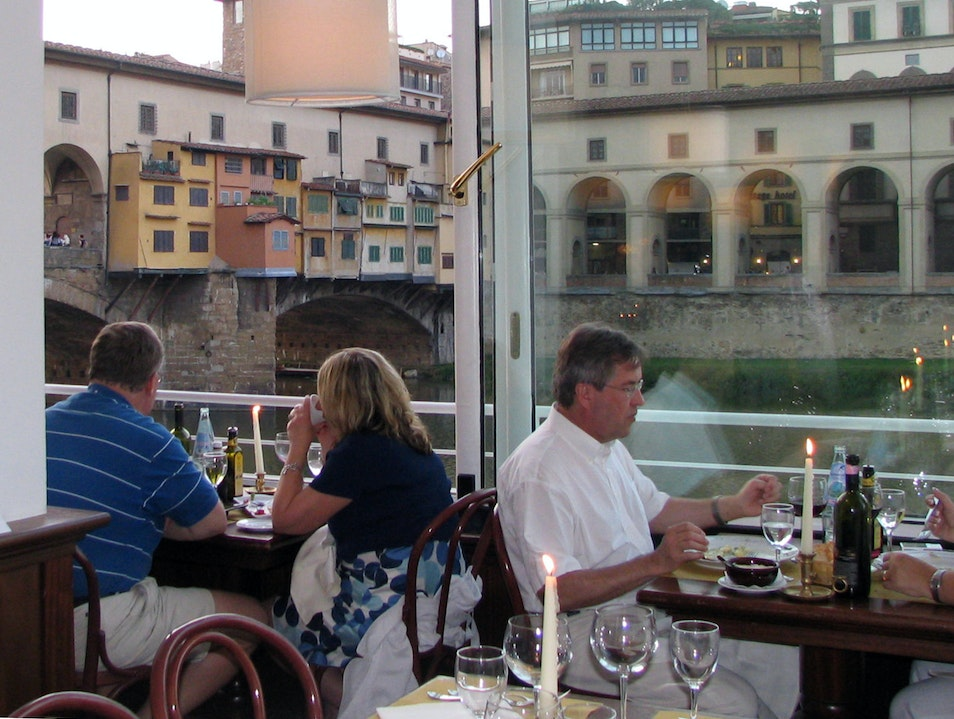 Really good food, better view Florence  Italy