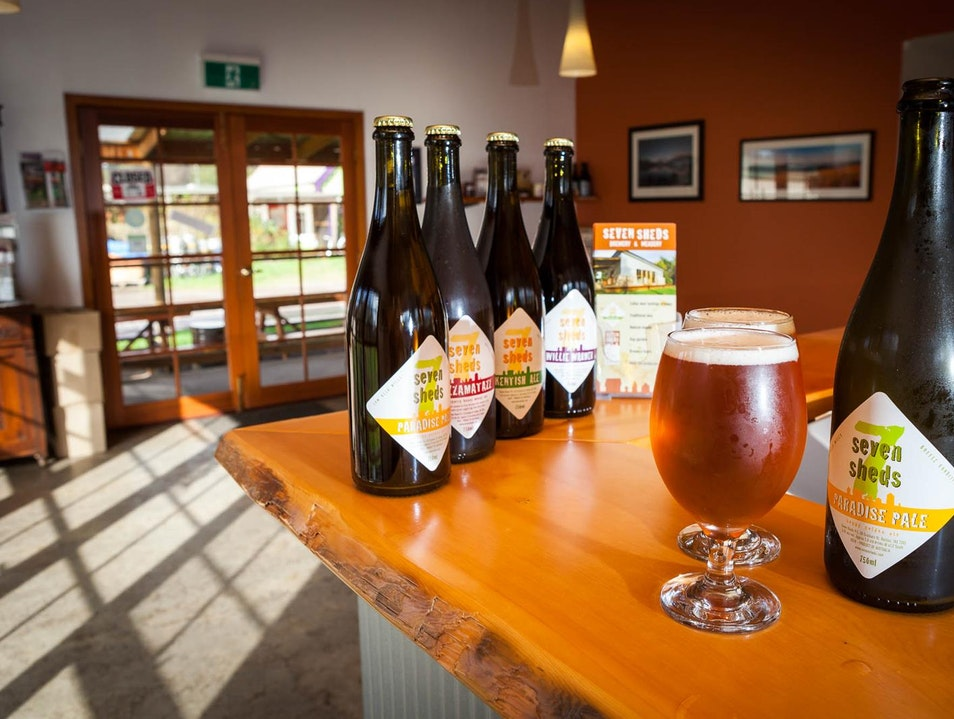 Brews Beyond Beer at Seven Sheds Brewery Railton  Australia
