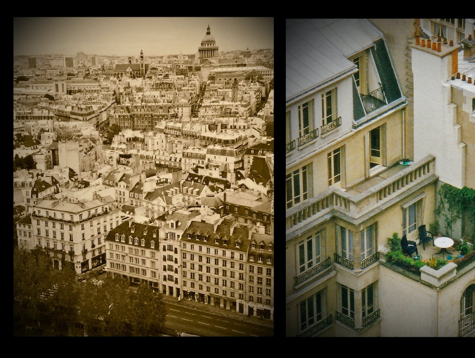 views from the top: from the grand to the intimate   France