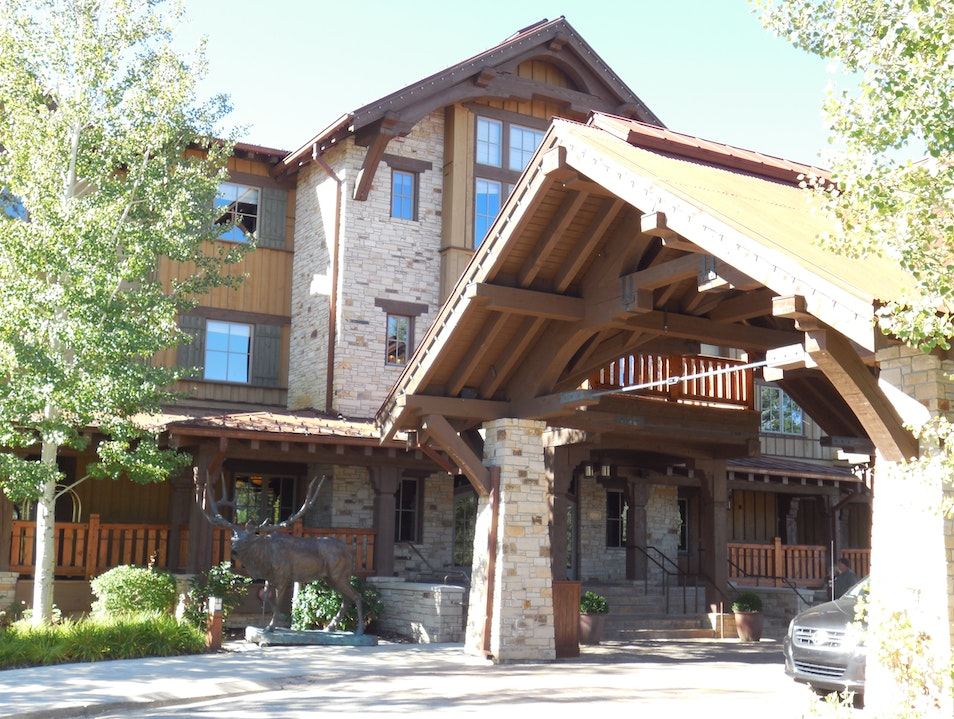 Hotel on the Golf Course Park City Utah United States