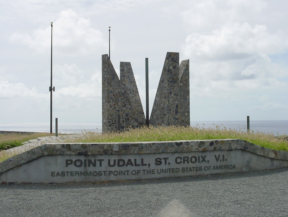 Point Udall Christiansted  United States Virgin Islands