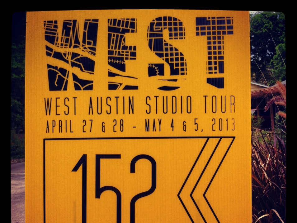 WEST: West Austin Studio Tour Austin Texas United States