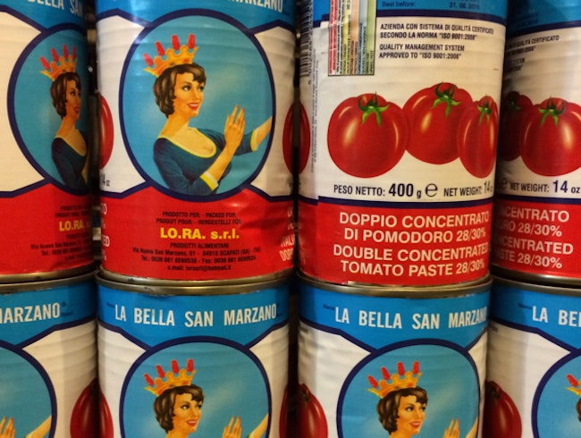 Family- run Italian food imports and deli