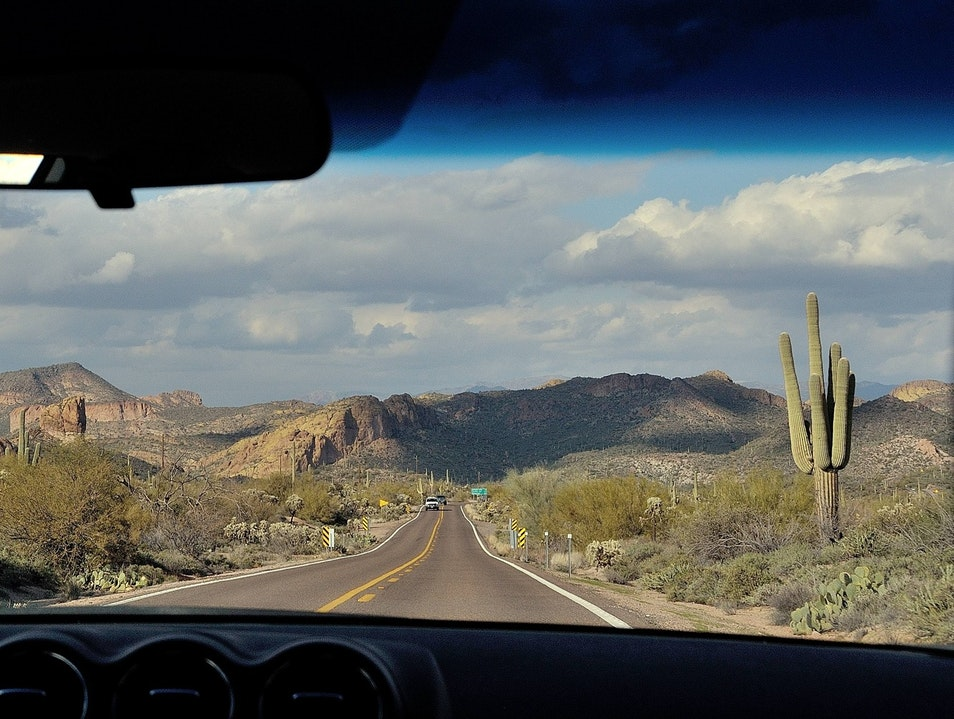 Road Trip Along the Apache Trail Apache Junction Arizona United States