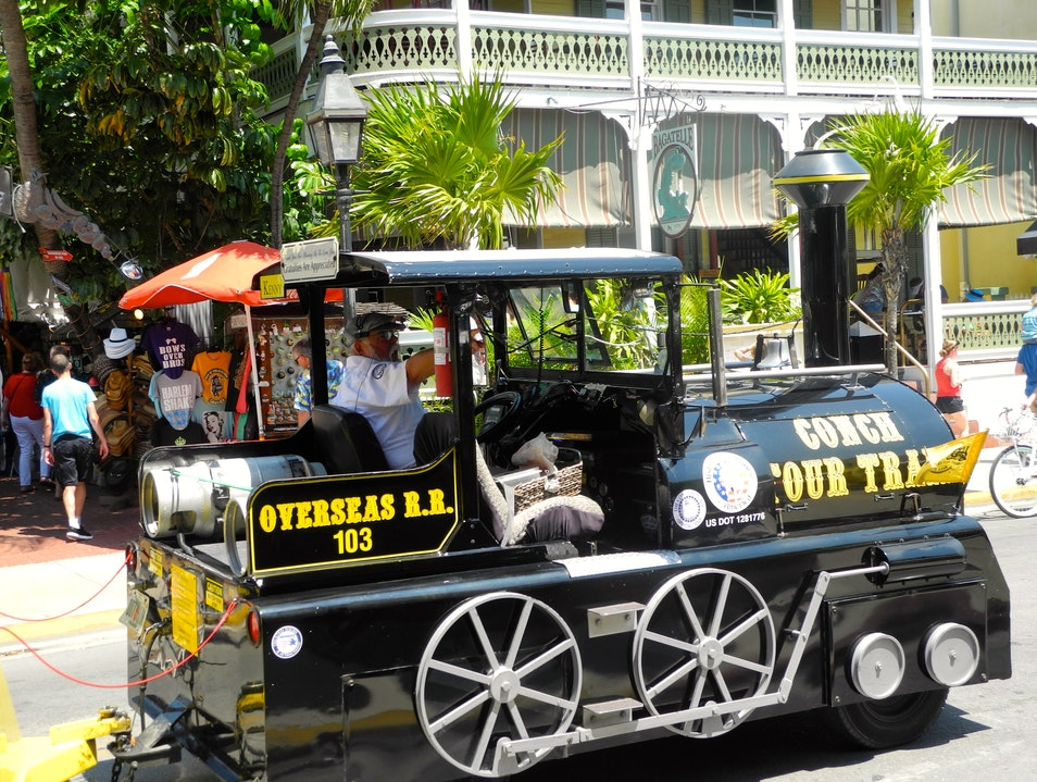 A Key West  Trolley Tour Key West Florida United States