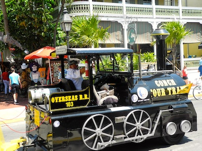 Conch Tour Train Key West Florida United States