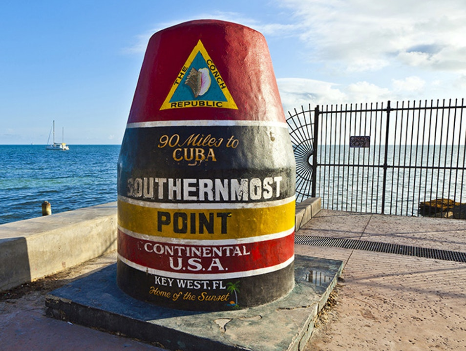 Southernmost Point Key West Florida United States