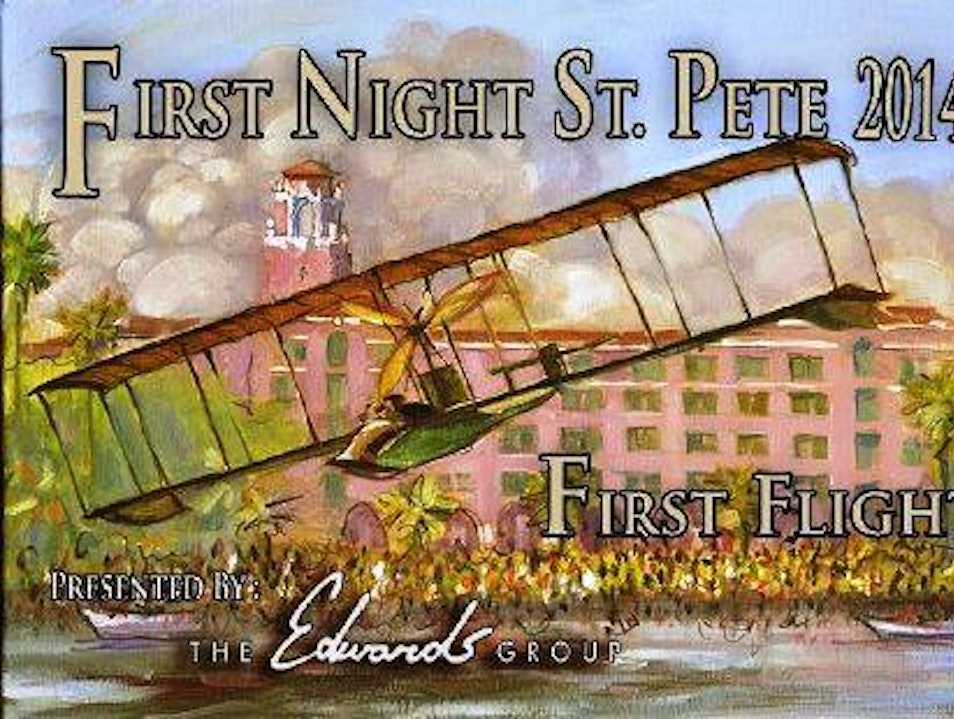 Ring in the New Year at First Night St Pete St. Petersburg Florida United States