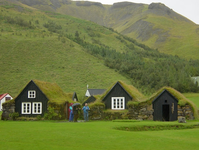 Grass Roofed Houses