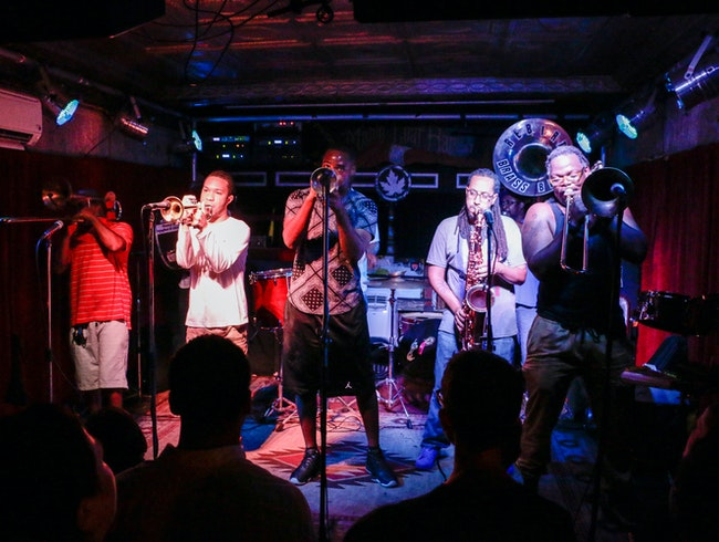 ReBirth Brass Band Tuesday Nights at the Maple Leaf Bar