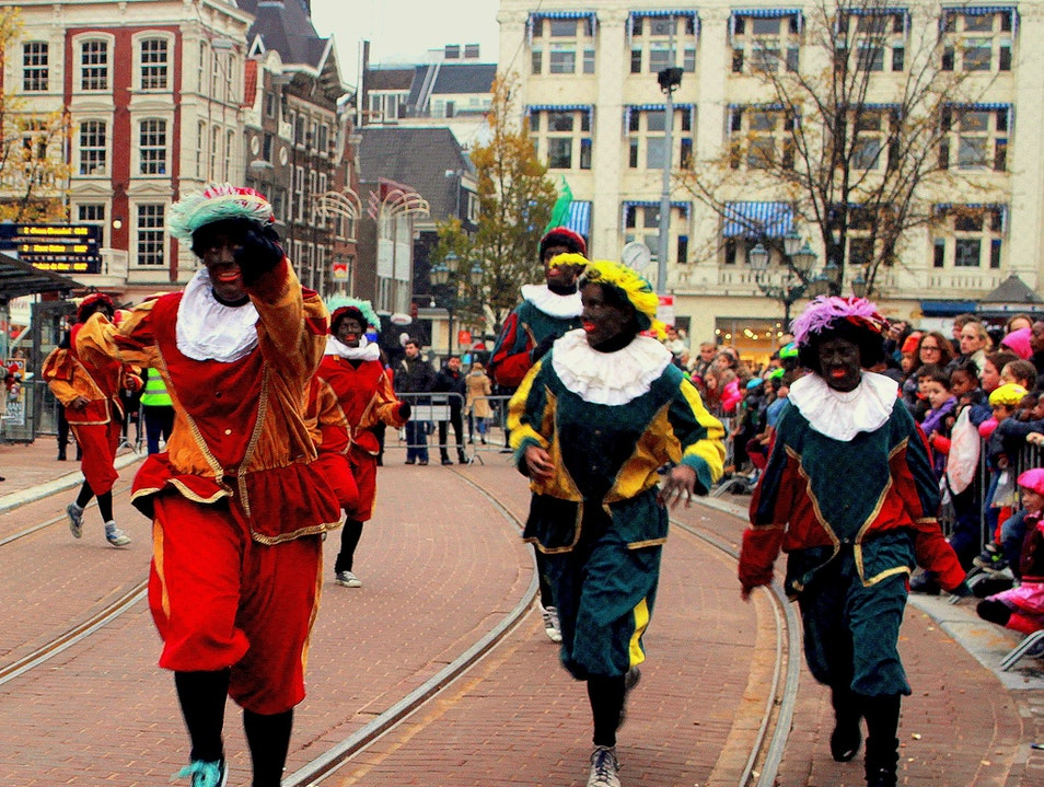 Sinterklaas' Arrival in the Netherlands Amsterdam  The Netherlands