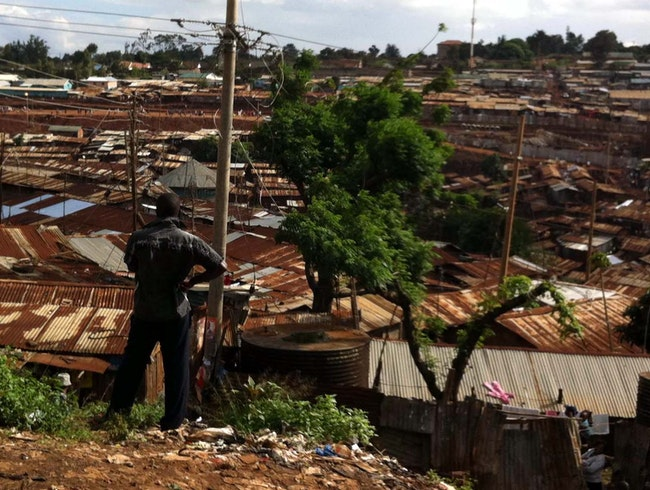 the largest slum in East Africa