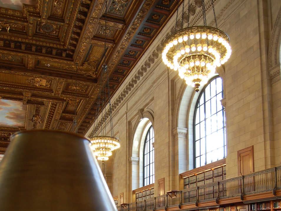 Log on at the New York Public Library