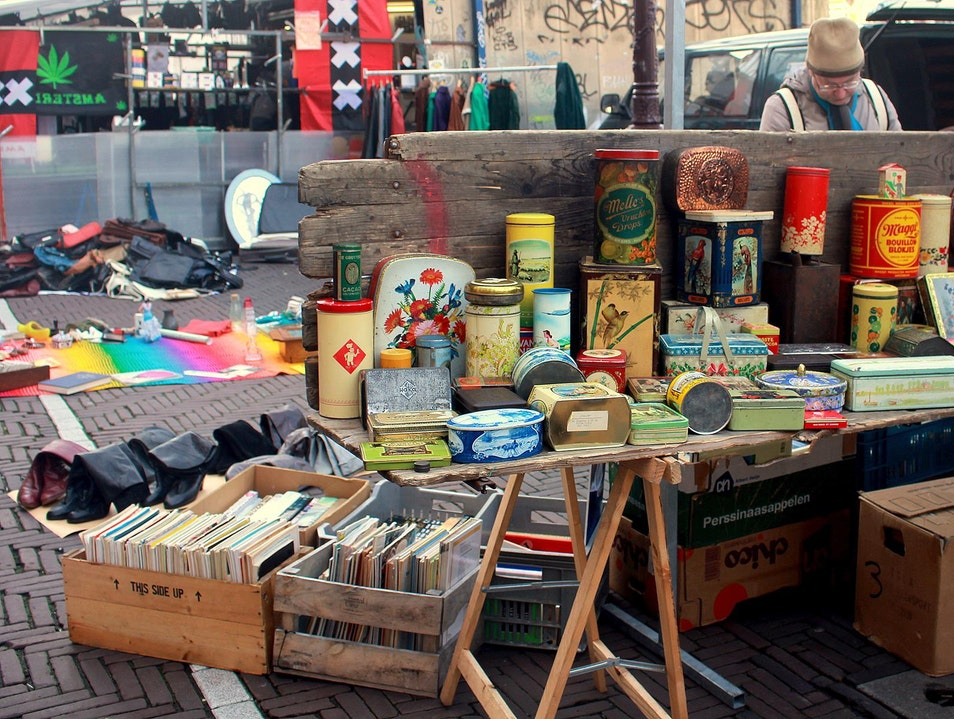 Waterlooplein: Finding Gold Amidst Others' Garbage Amsterdam  The Netherlands