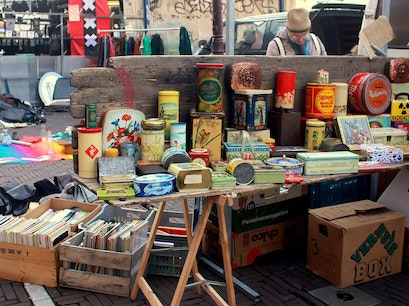 Waterlooplein Flea Market Amsterdam  The Netherlands